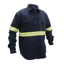Camisa Trabajo M/Larga con Reflectivo